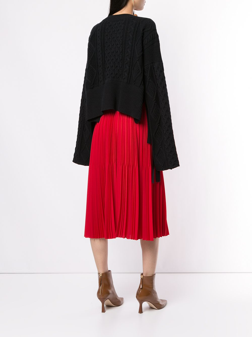 Maison Mihara Yasuhiro   свитер фактурной вязки   Clouty