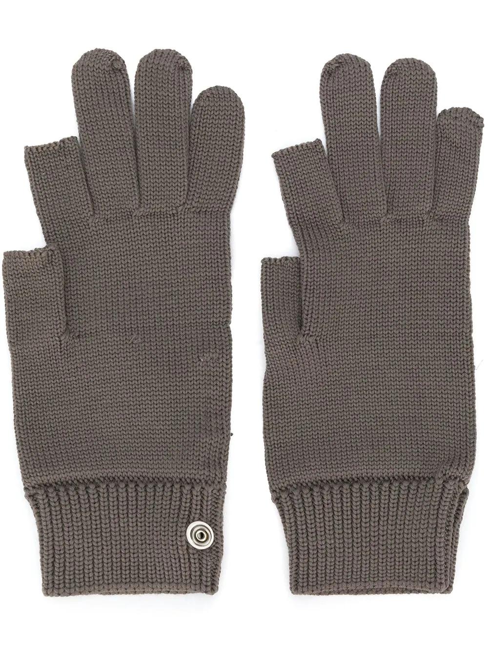 RICK OWENS | вязаные перчатки | Clouty