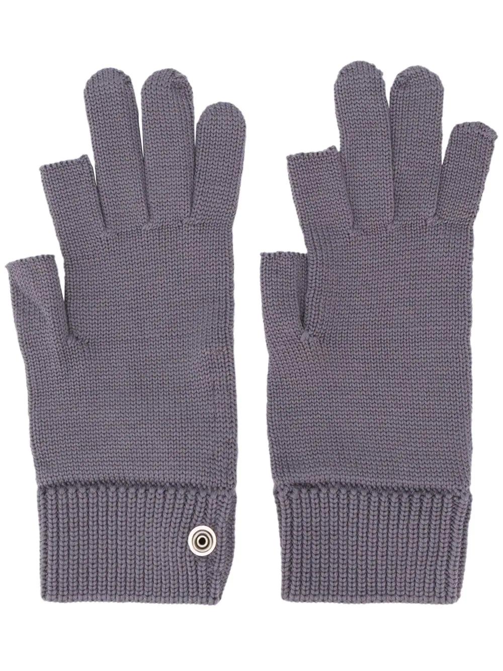 RICK OWENS | трикотажные перчатки | Clouty