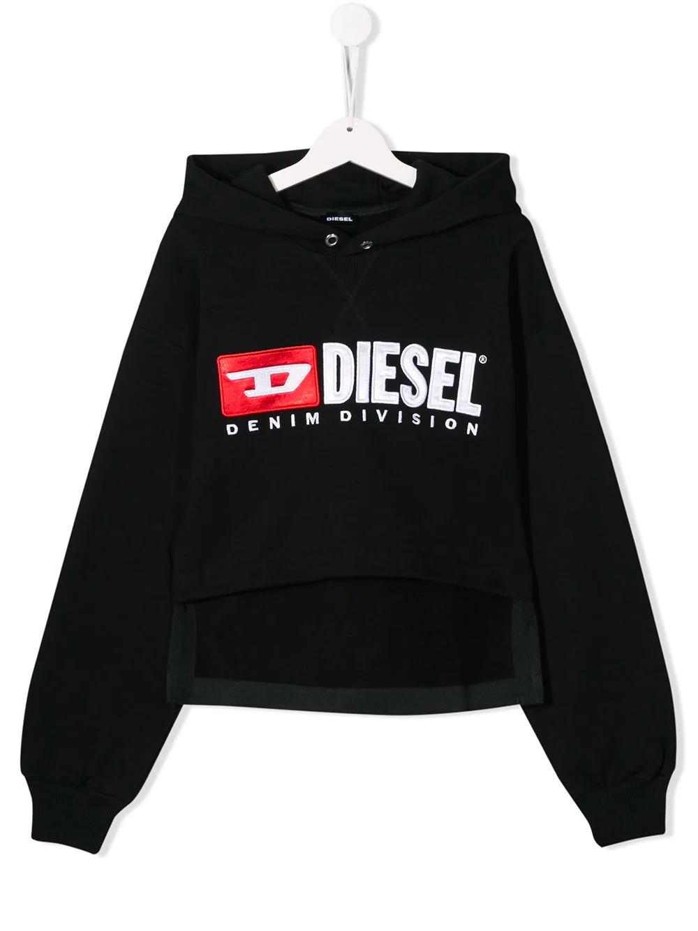 Diesel Kids | Diesel Kids худи с контрастным логотипом | Clouty