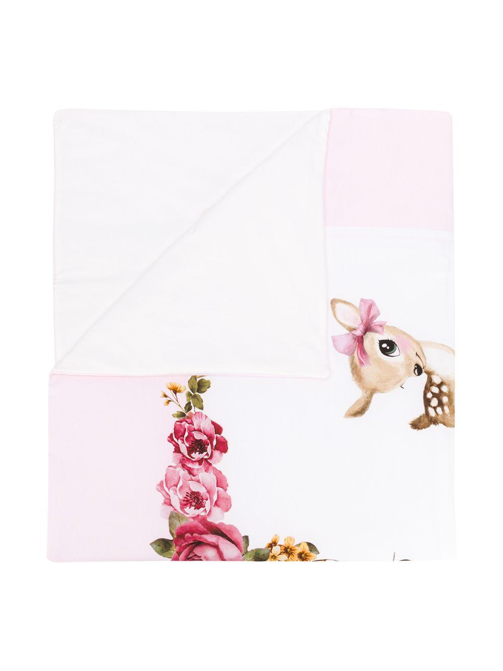 Monnalisa | Monnalisa одеяло с принтом | Clouty