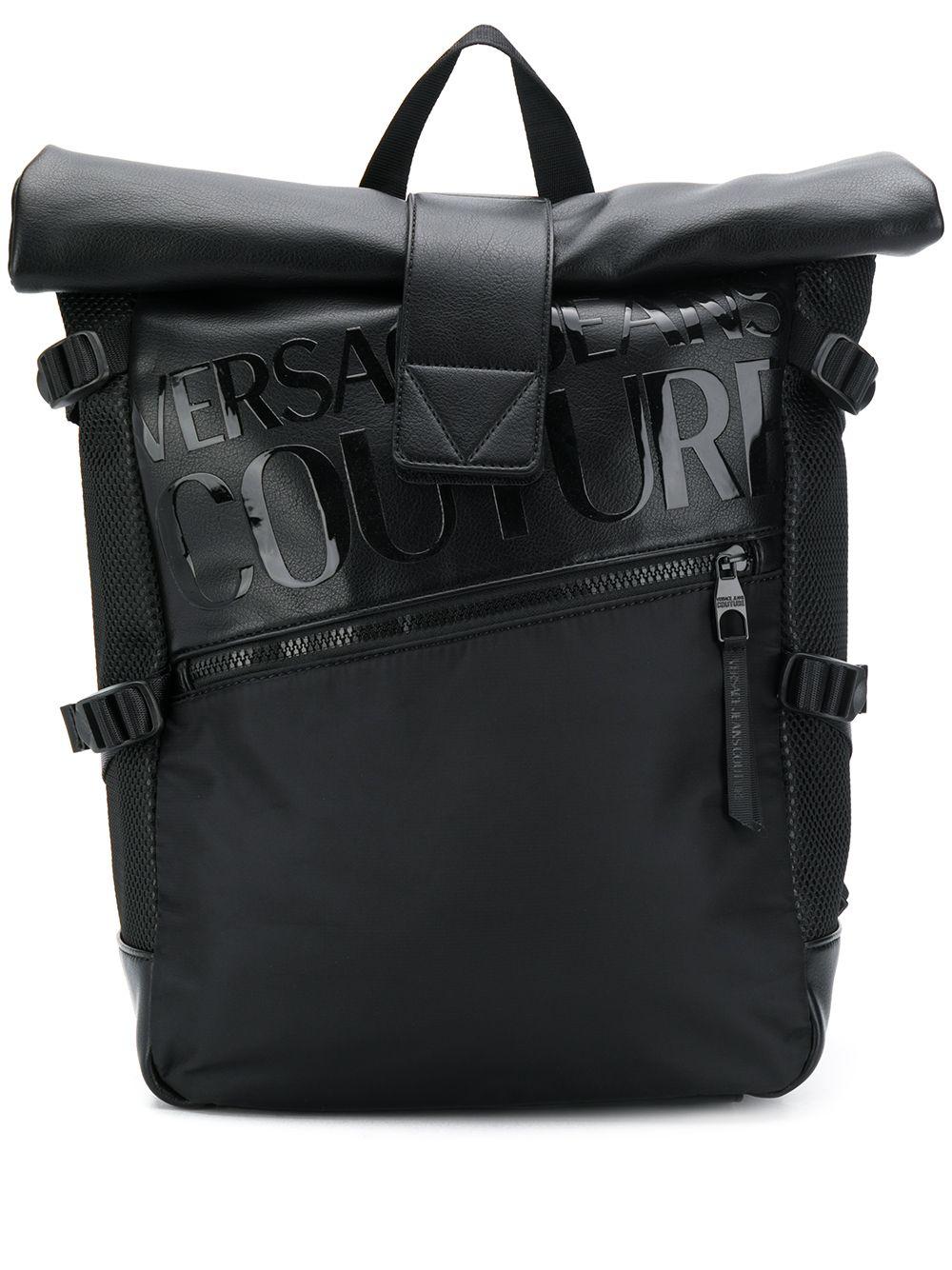 Versace Jeans   рюкзак с отворотом   Clouty