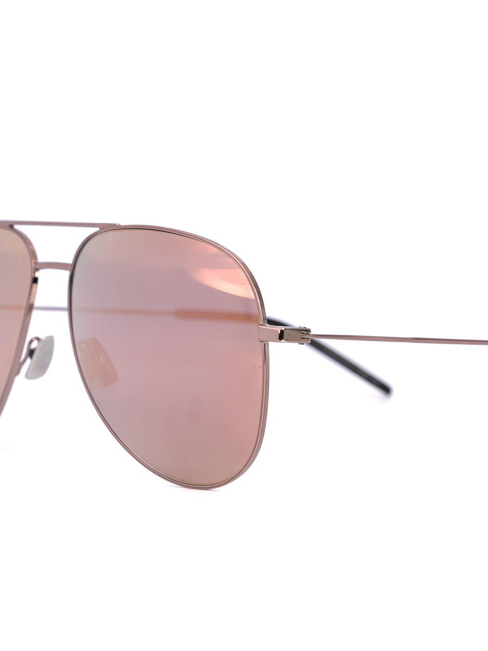 SAINT LAURENT | классические солнцезащитные очки-авиаторы | Clouty