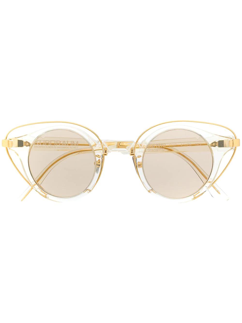 Kuboraum   Kuboraum солнцезащитные очки в оправе 'кошачий глаз'   Clouty