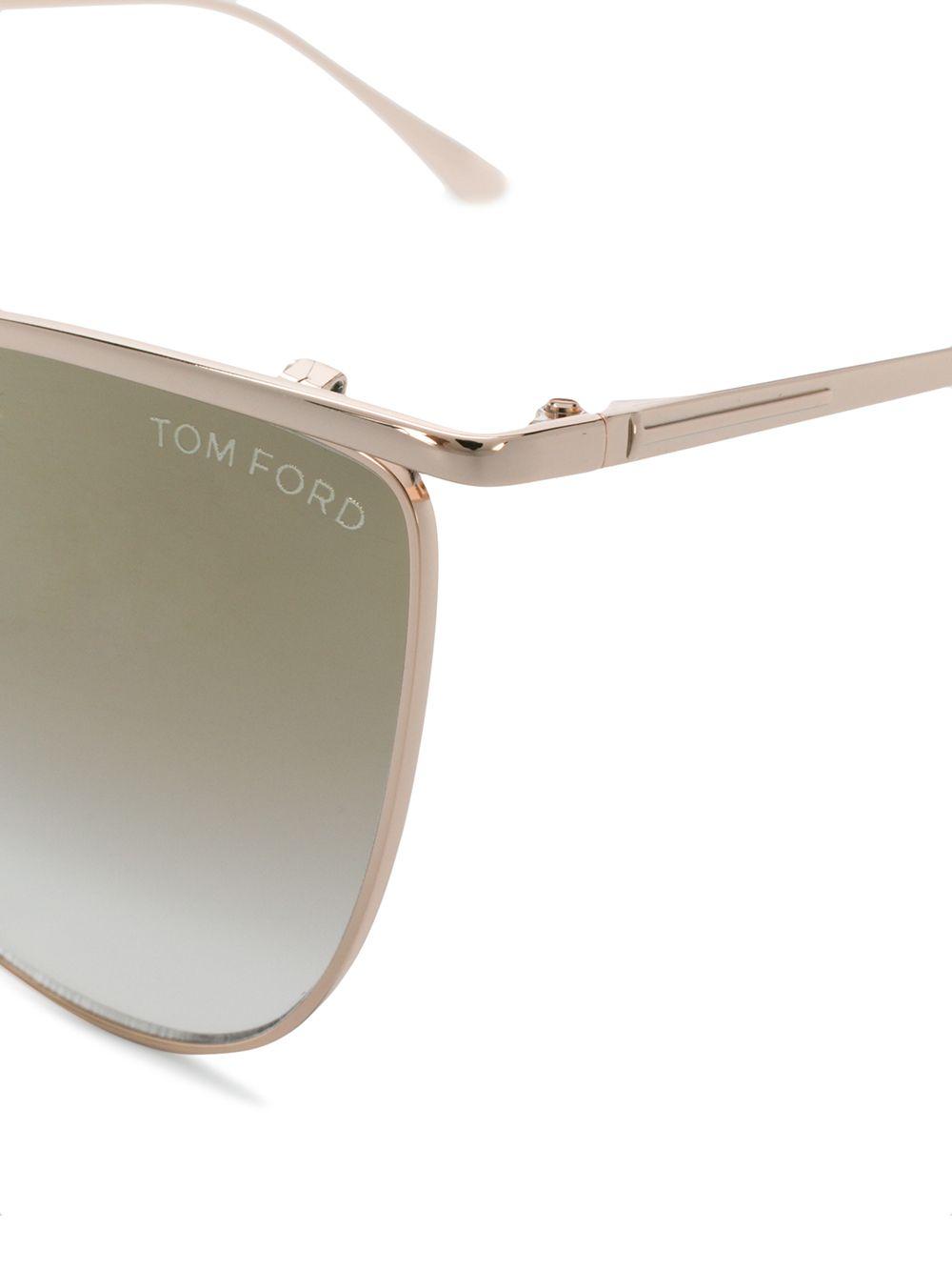 Tom Ford | солнцезащитные очки Veronica в квадратной оправе | Clouty