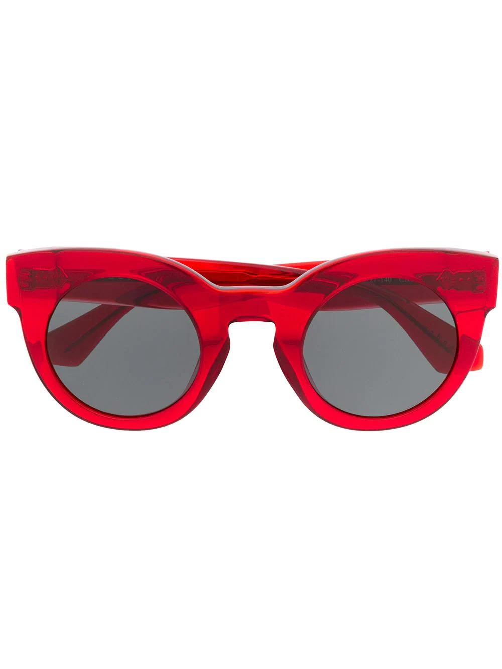 Sandro | солнцезащитные очки в оправе 'кошачий глаз' | Clouty