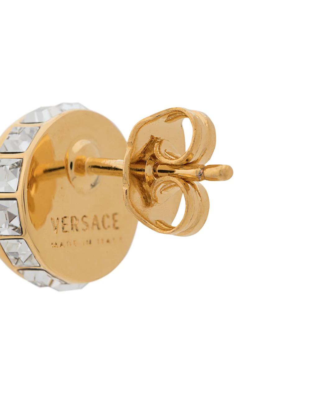Versace Jeans | серьги Medusa | Clouty
