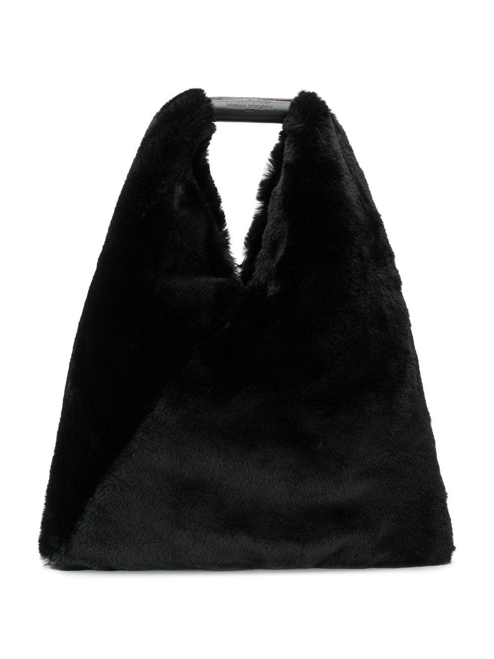 MM6 Maison Margiela | Mm6 Maison Margiela меховая сумка-тоут | Clouty