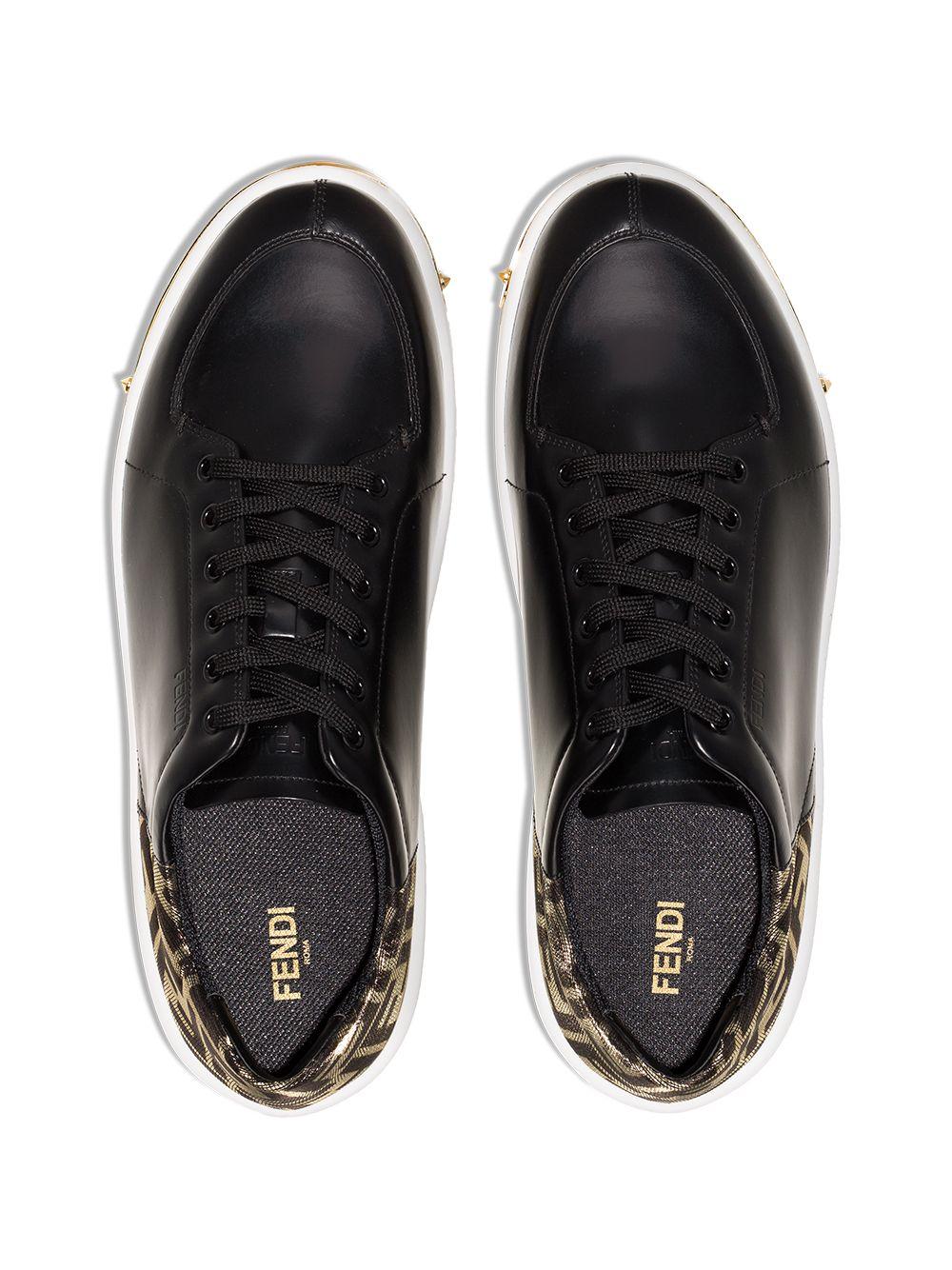 FENDI | кроссовки с логотипом FF | Clouty