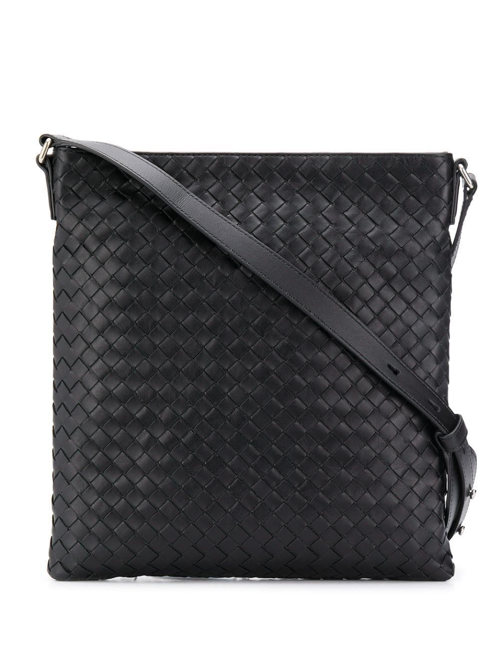 Bottega Veneta   сумка на плечо с плетением Intrecciato   Clouty