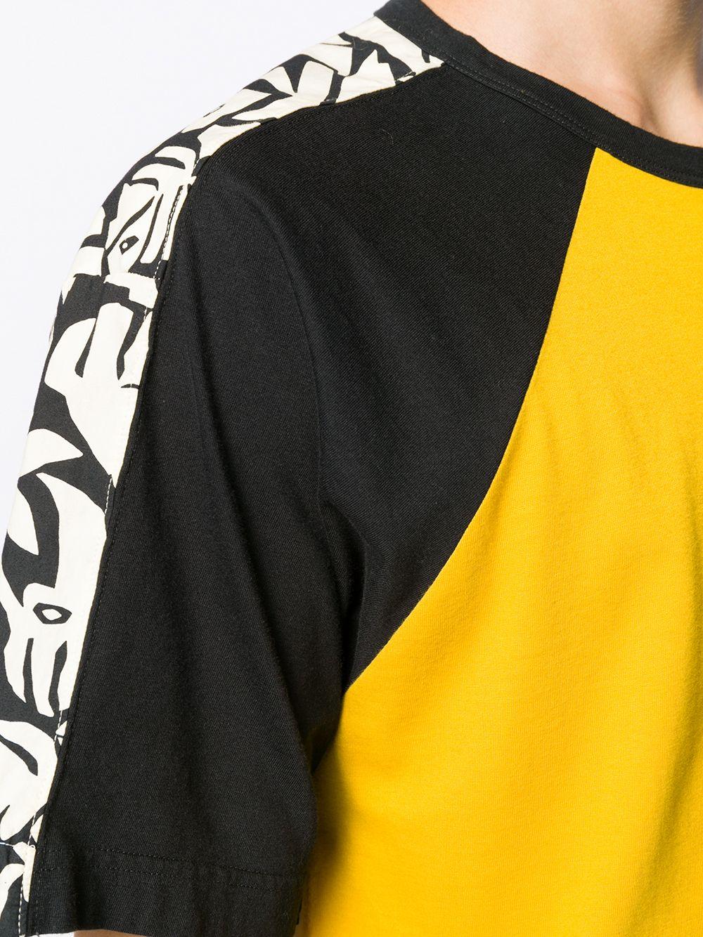 Marni   Marni футболка в стиле колор-блок   Clouty