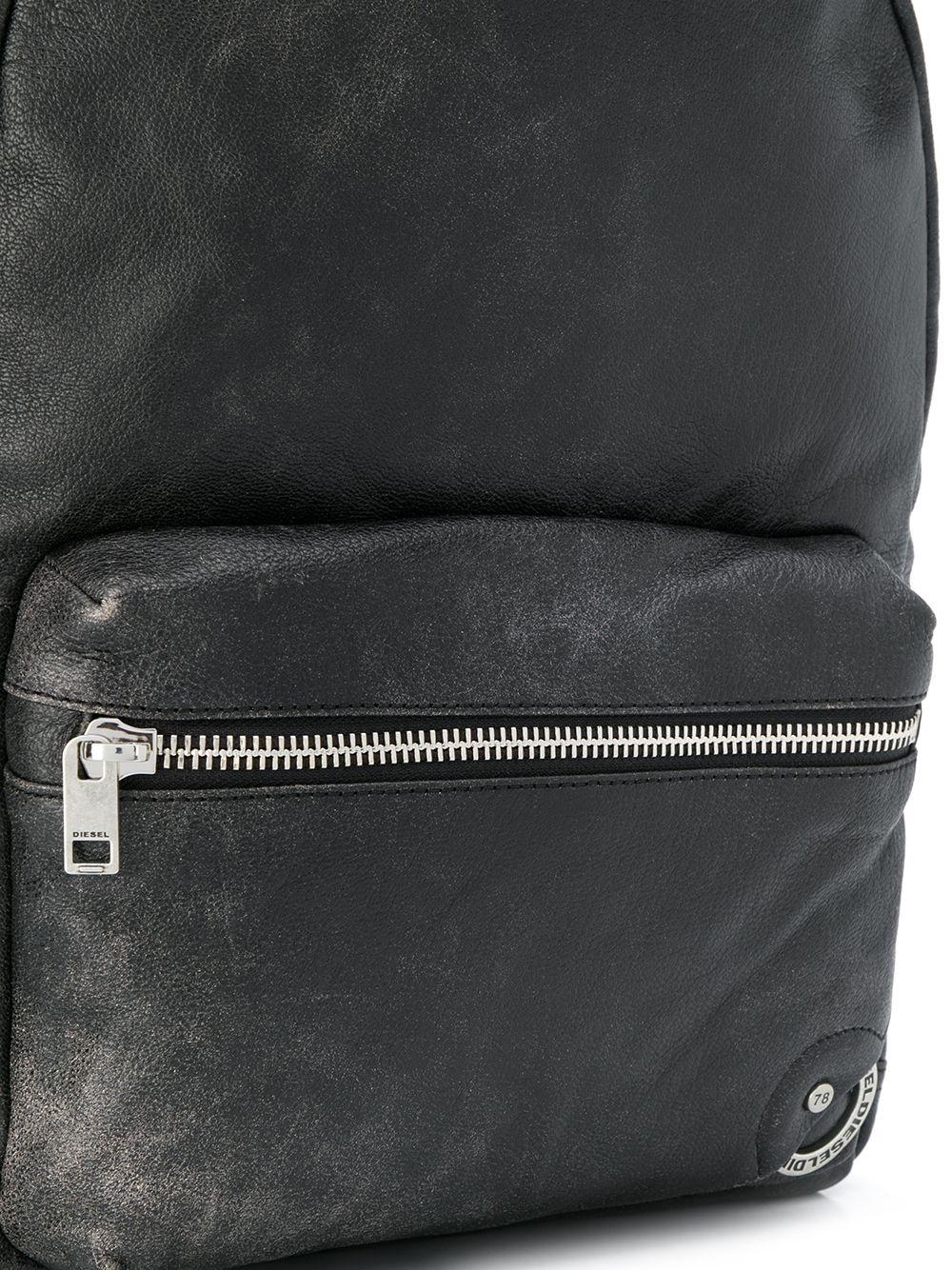 DIESEL | рюкзак с эффектом потертости | Clouty