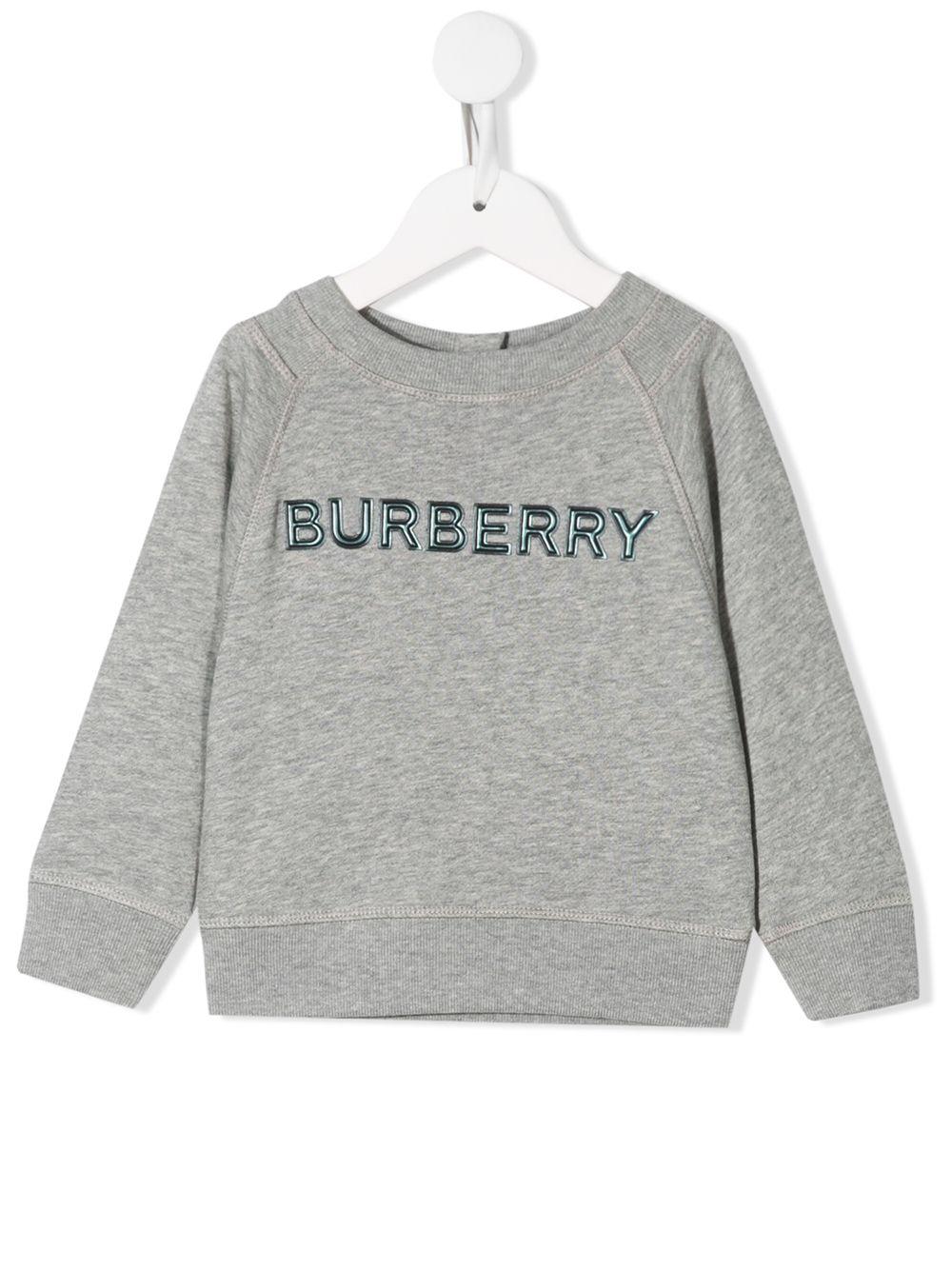 Burberry Kids | толстовка с вышитым логотипом | Clouty