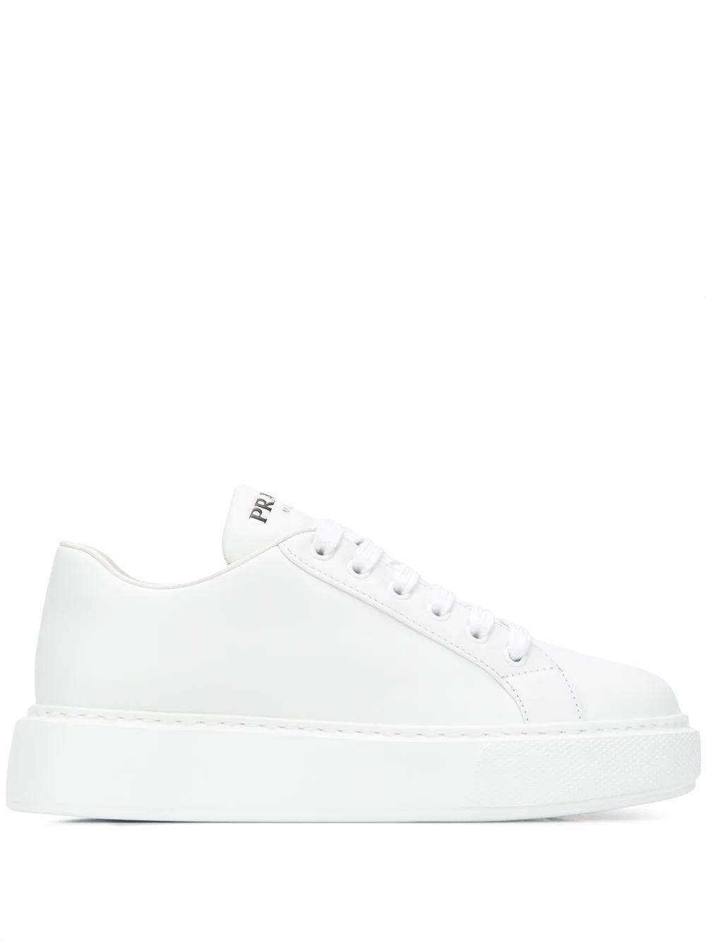 Prada кроссовки на платформе 1E892L3J8K - цена 35106 руб., купить на Clouty.ru