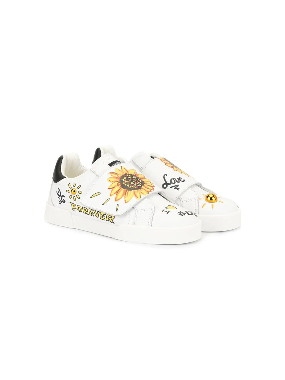 Dolce & Gabbana Junior | кроссовки с принтом | Clouty