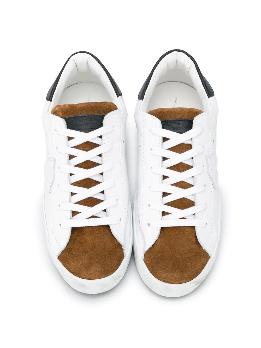Philippe Model Kids | кроссовки в стиле колор-блок | Clouty