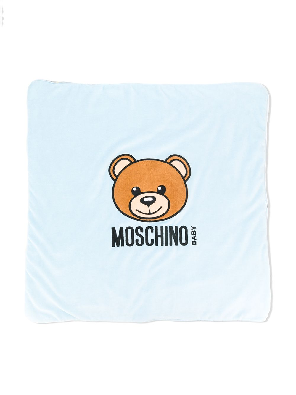 Moschino Baby | одеяло с логотипом | Clouty