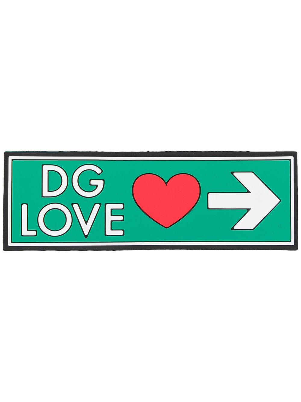 Dolce & Gabbana | Dolce & Gabbana нашивка с логотипом | Clouty