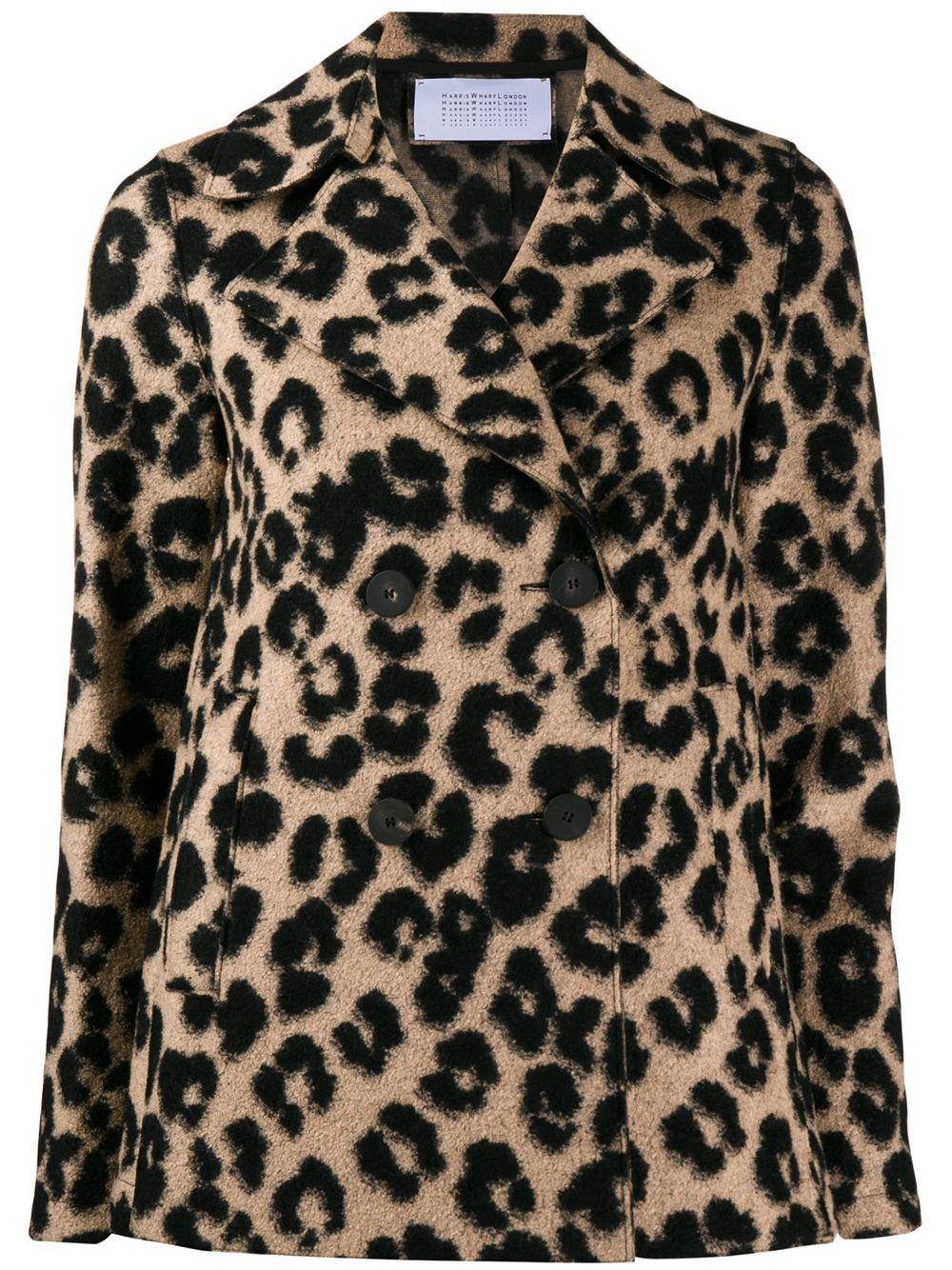 Harris Wharf London | Harris Wharf London жакет с леопардовым принтом | Clouty