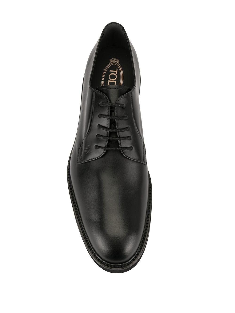 Tod's | туфли дерби на шнуровке | Clouty