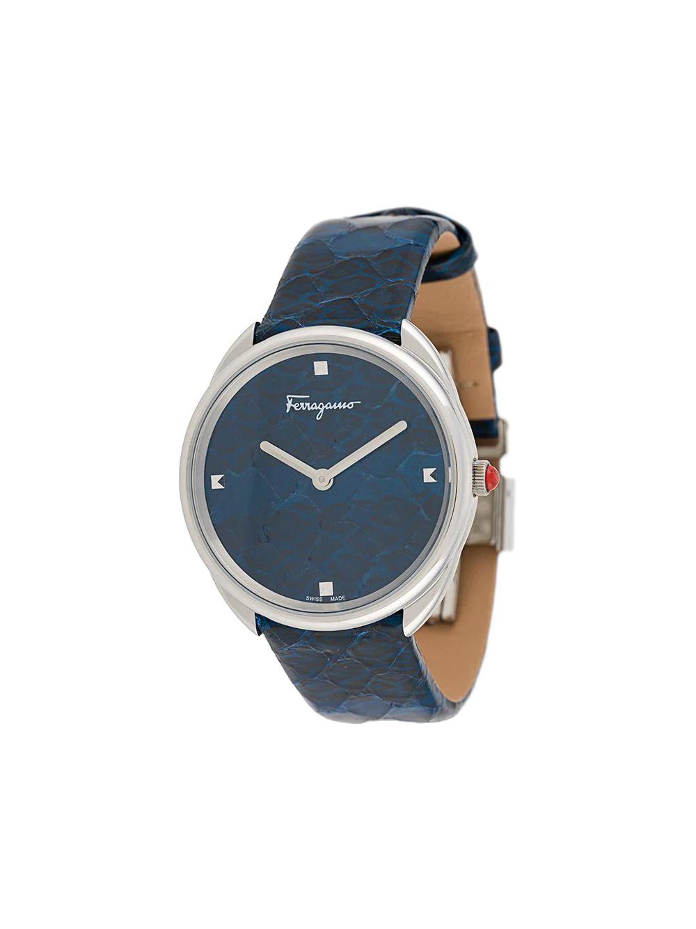 SALVATORE FERRAGAMO   Salvatore Ferragamo Watches наручные часы Cuir 34 мм   Clouty