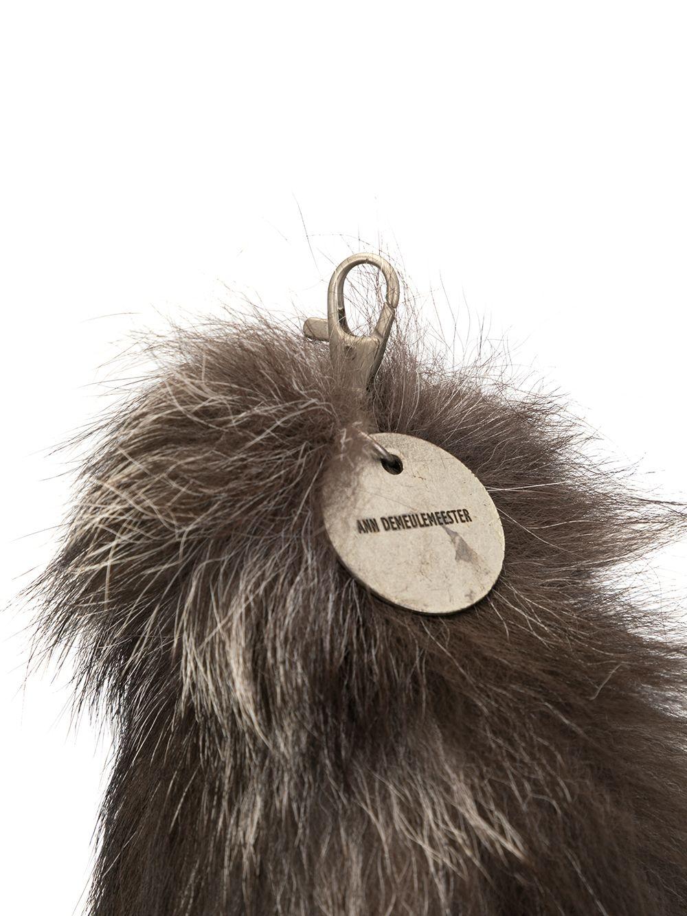 Ann Demeulemeester | меховой брелок для ключей | Clouty