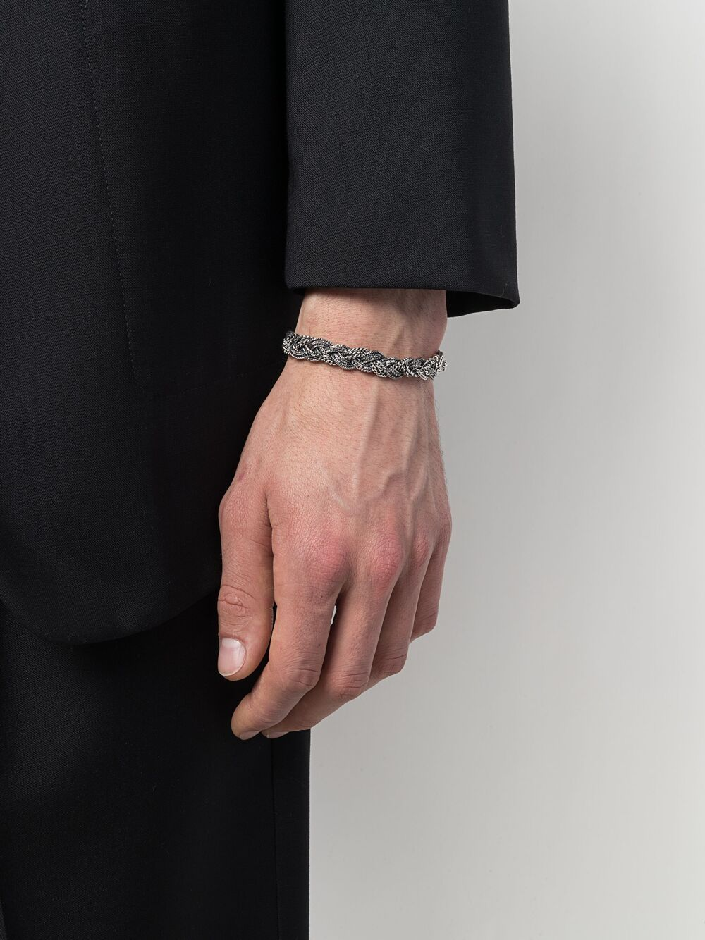 Emanuele Bicocchi | Emanuele Bicocchi плетеный браслет | Clouty