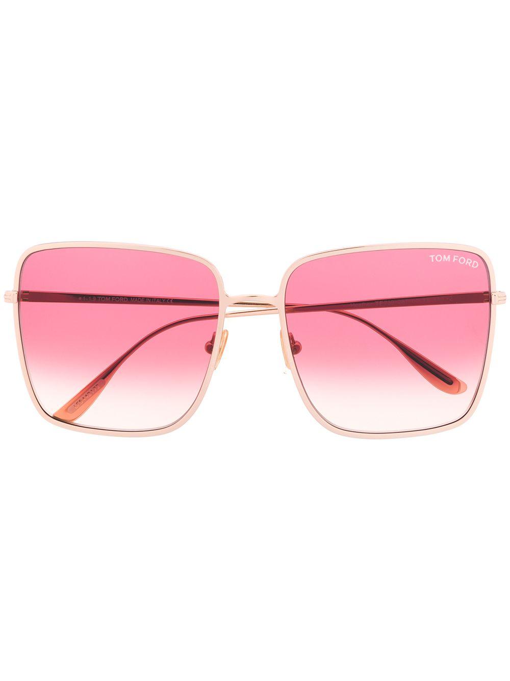 Tom Ford   солнцезащитные очки в квадратной оправе с градиентными стеклами   Clouty