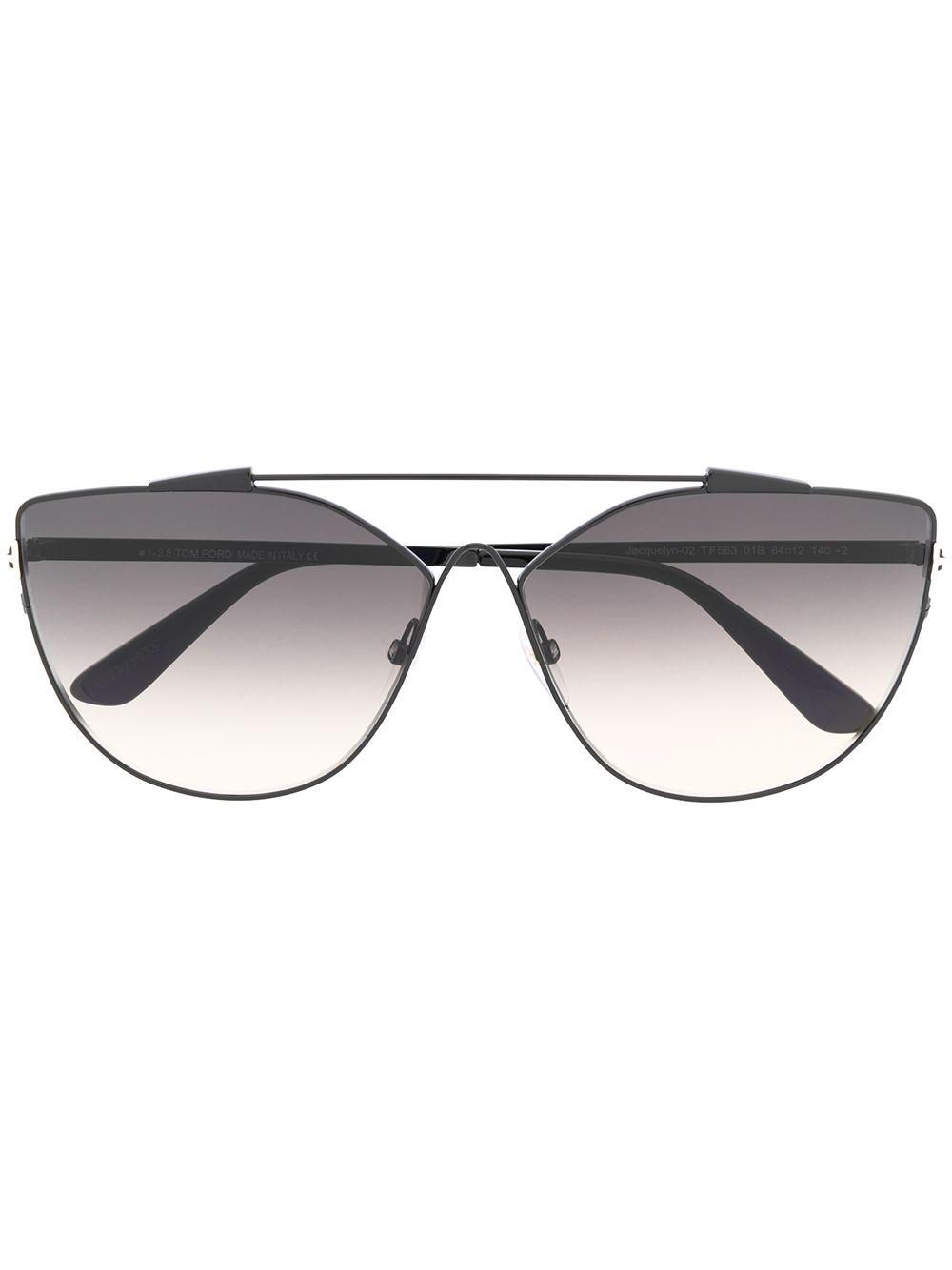 Tom Ford | солнцезащитные очки в оправе 'кошачий глаз' | Clouty