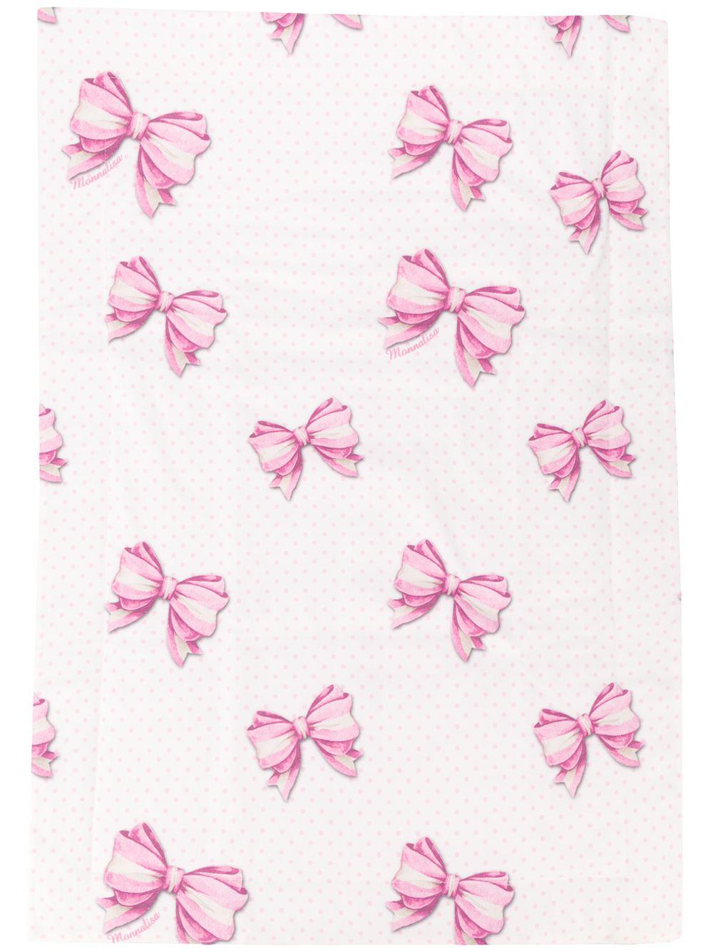 Monnalisa   одеяло с принтом Bow   Clouty