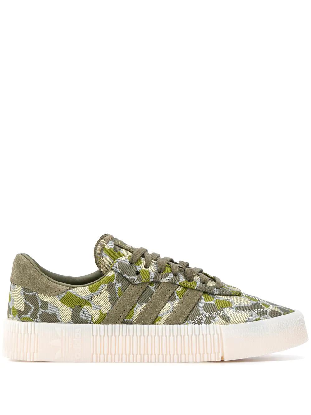 adidas | adidas камуфляжные кроссовки Sambarose | Clouty