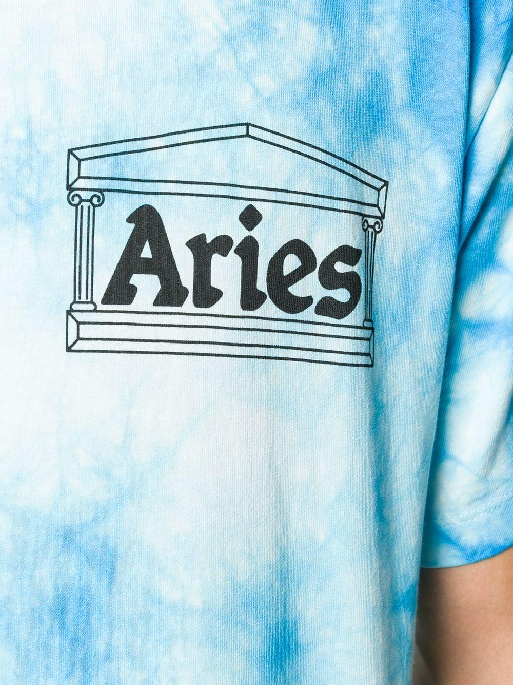 Aries   Aries футболка с принтом тай-дай   Clouty