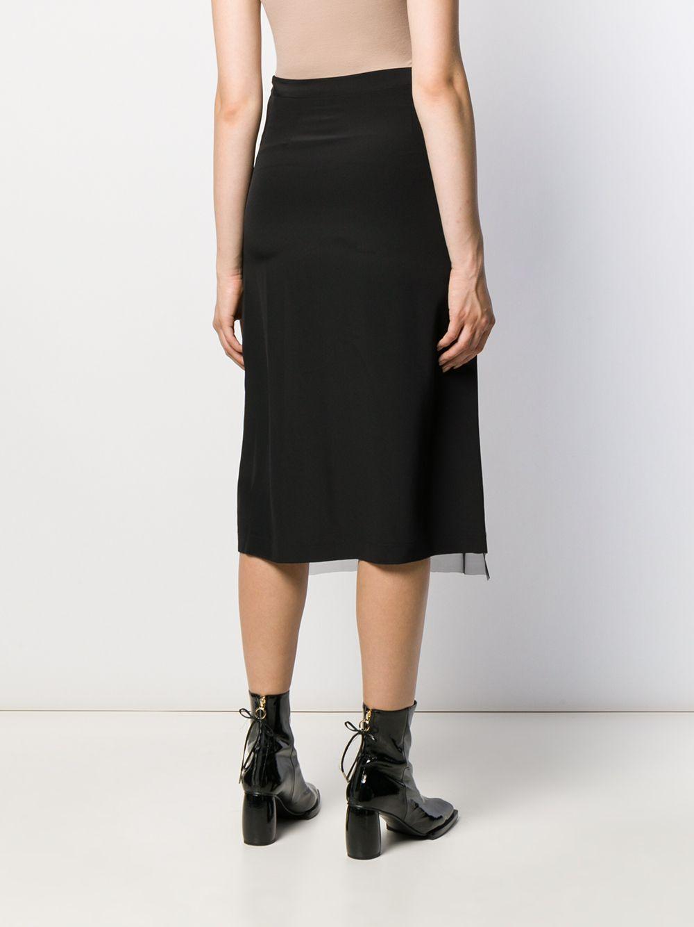 McQ Alexander Mcqueen | юбка с пайетками | Clouty