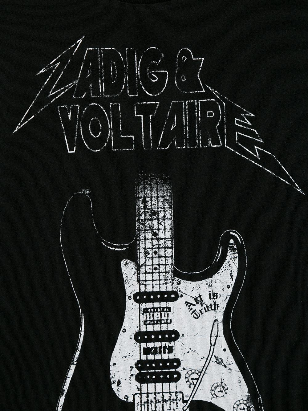 Zadig & Voltaire | Zadig & Voltaire Kids футболка с логотипом | Clouty