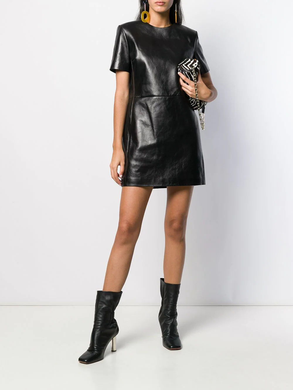 SAINT LAURENT | Saint Laurent платье-футболка | Clouty