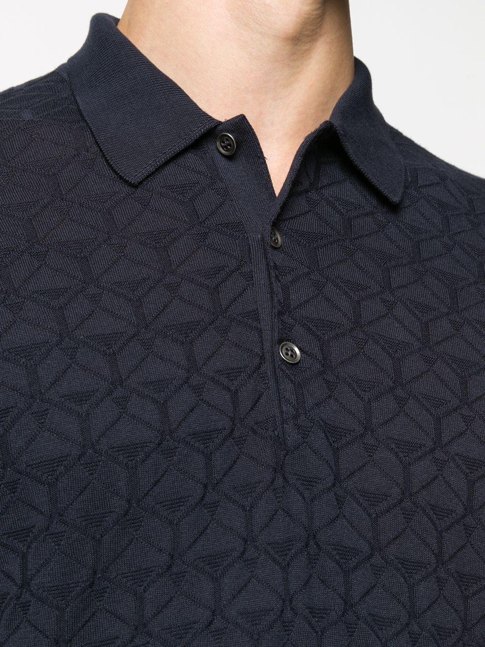 John Smedley | John Smedley фактурная рубашка поло | Clouty