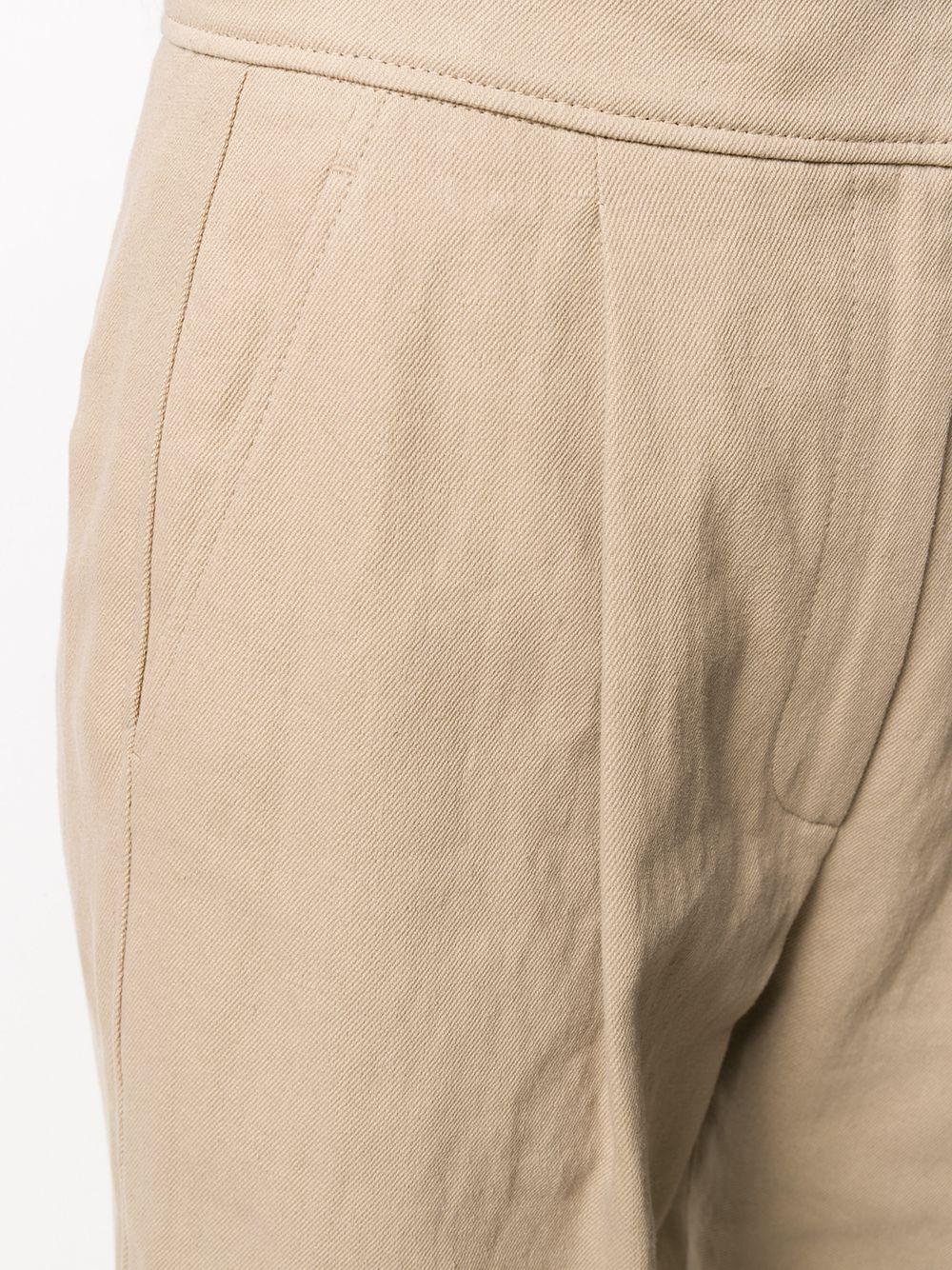 Brunello Cucinelli | Brunello Cucinelli зауженные брюки со вставками | Clouty