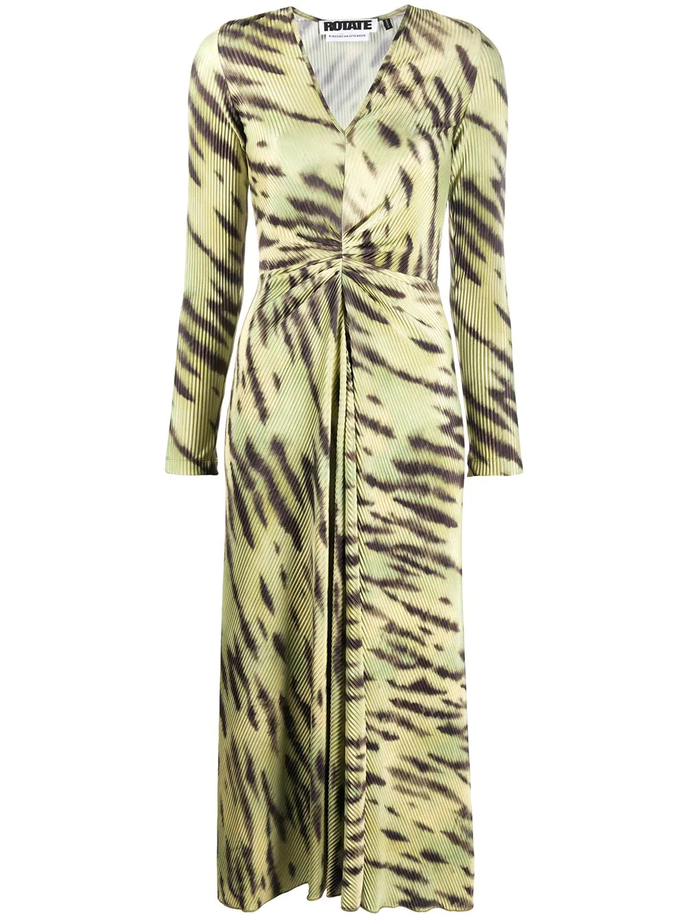 ROTATE | ROTATE платье с завязками и V-образным вырезом | Clouty