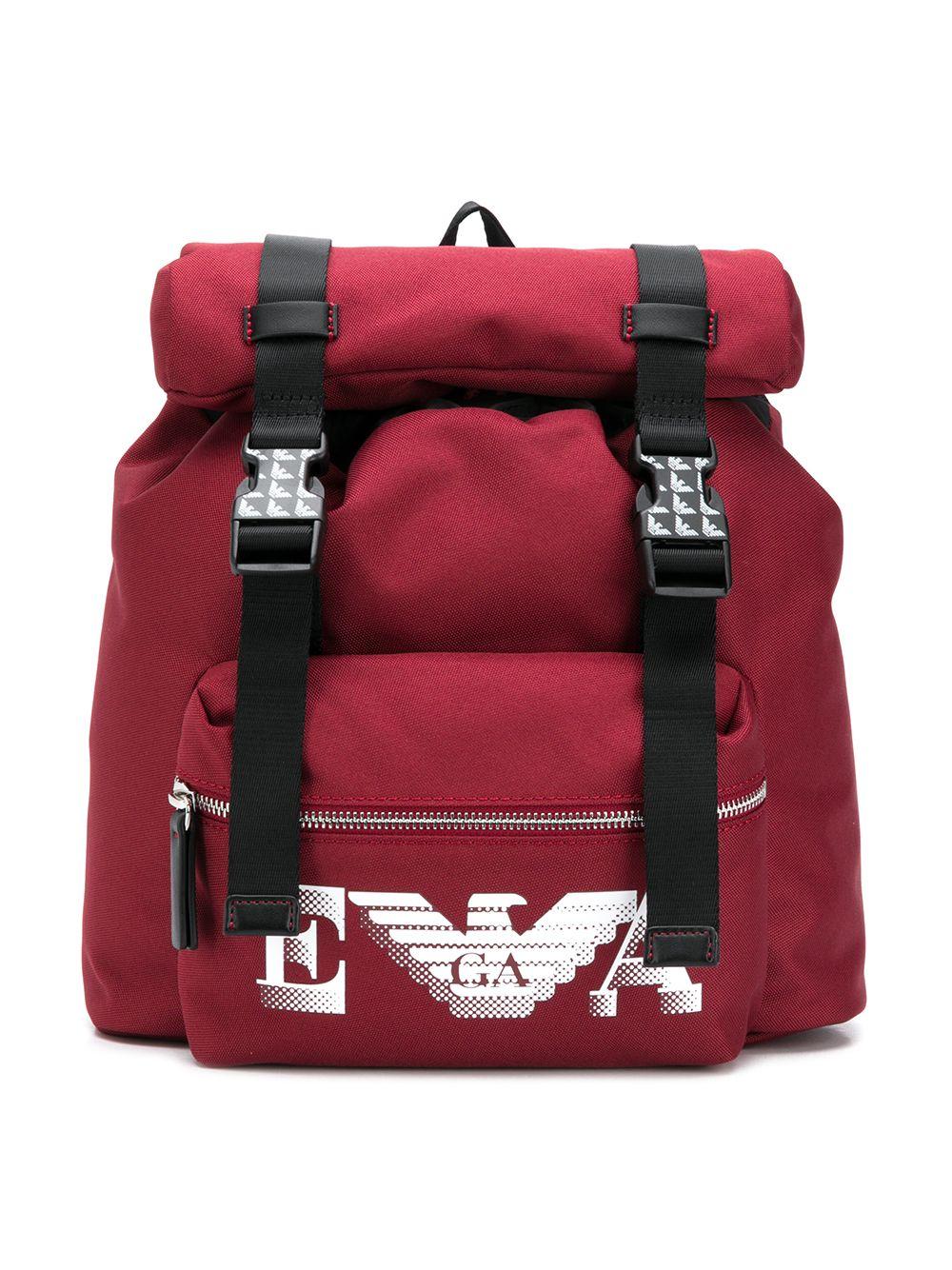 Emporio Armani Kids | Emporio Armani Kids рюкзак с пряжками | Clouty