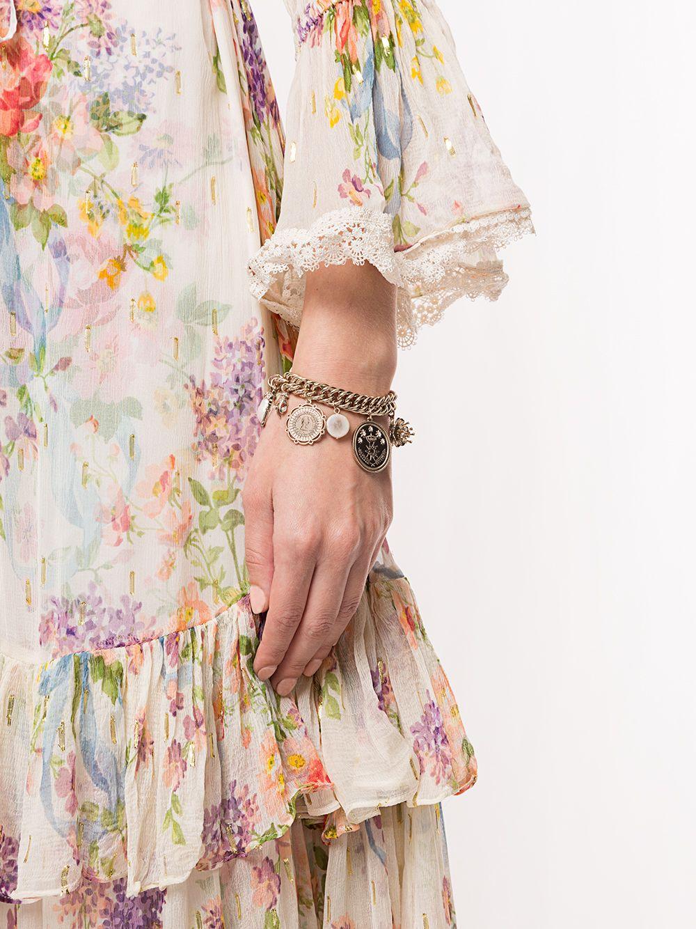 Marchesa Notte | Marchesa Notte цепочный браслет с подвесками | Clouty