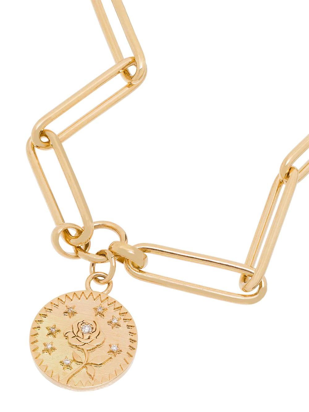 Foundrae | Foundrae браслет из желтого золота с бриллиантами | Clouty