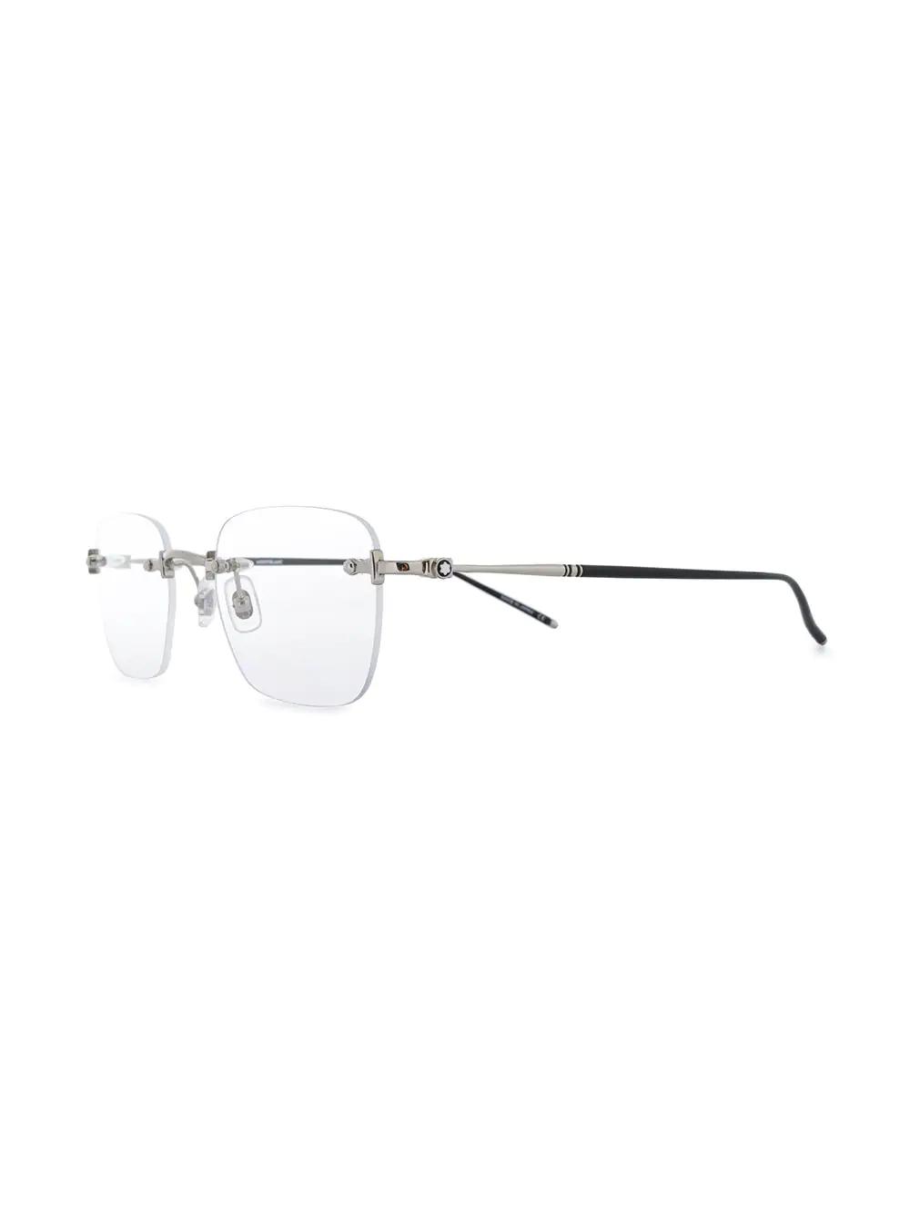 Montblanc   Montblanc очки в безободковой оправе   Clouty