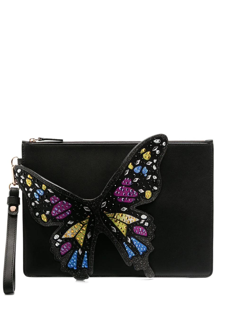 SOPHIA WEBSTER | Sophia Webster клатч Flossy 3D Butterfly | Clouty