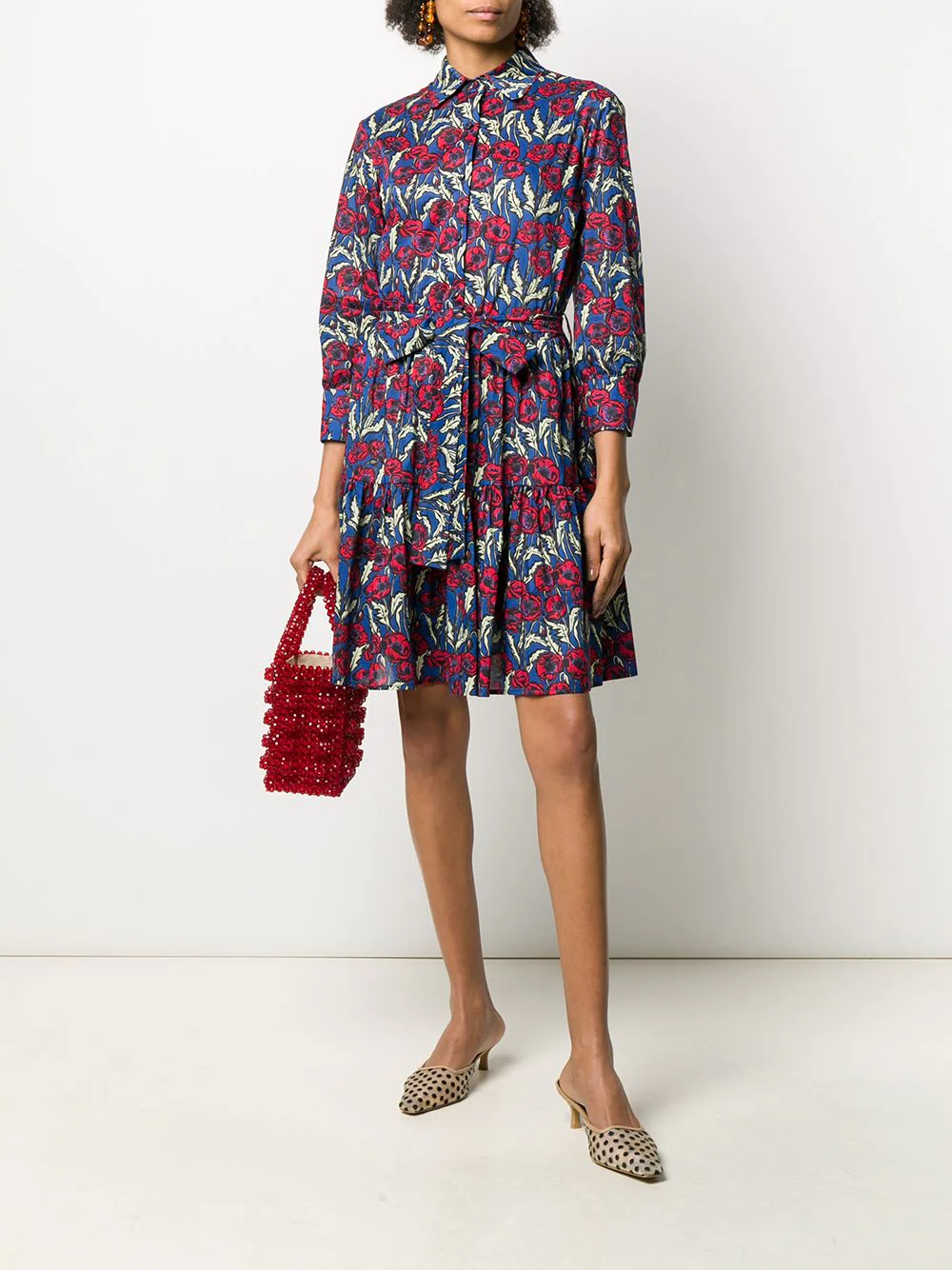 La DoubleJ | La Doublej короткое платье-рубашка Bellini | Clouty