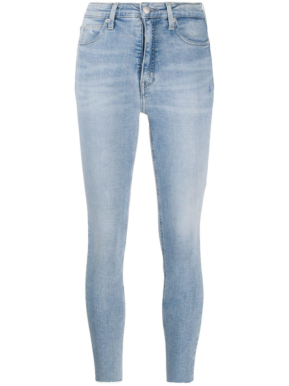 Calvin Klein Jeans | Calvin Klein Jeans джинсы скинни с завышенной талией | Clouty