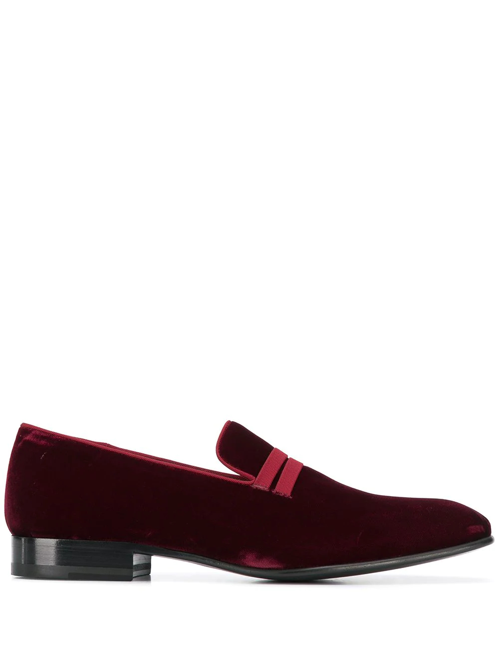 Malone Souliers | Malone Souliers бархатные лоферы | Clouty