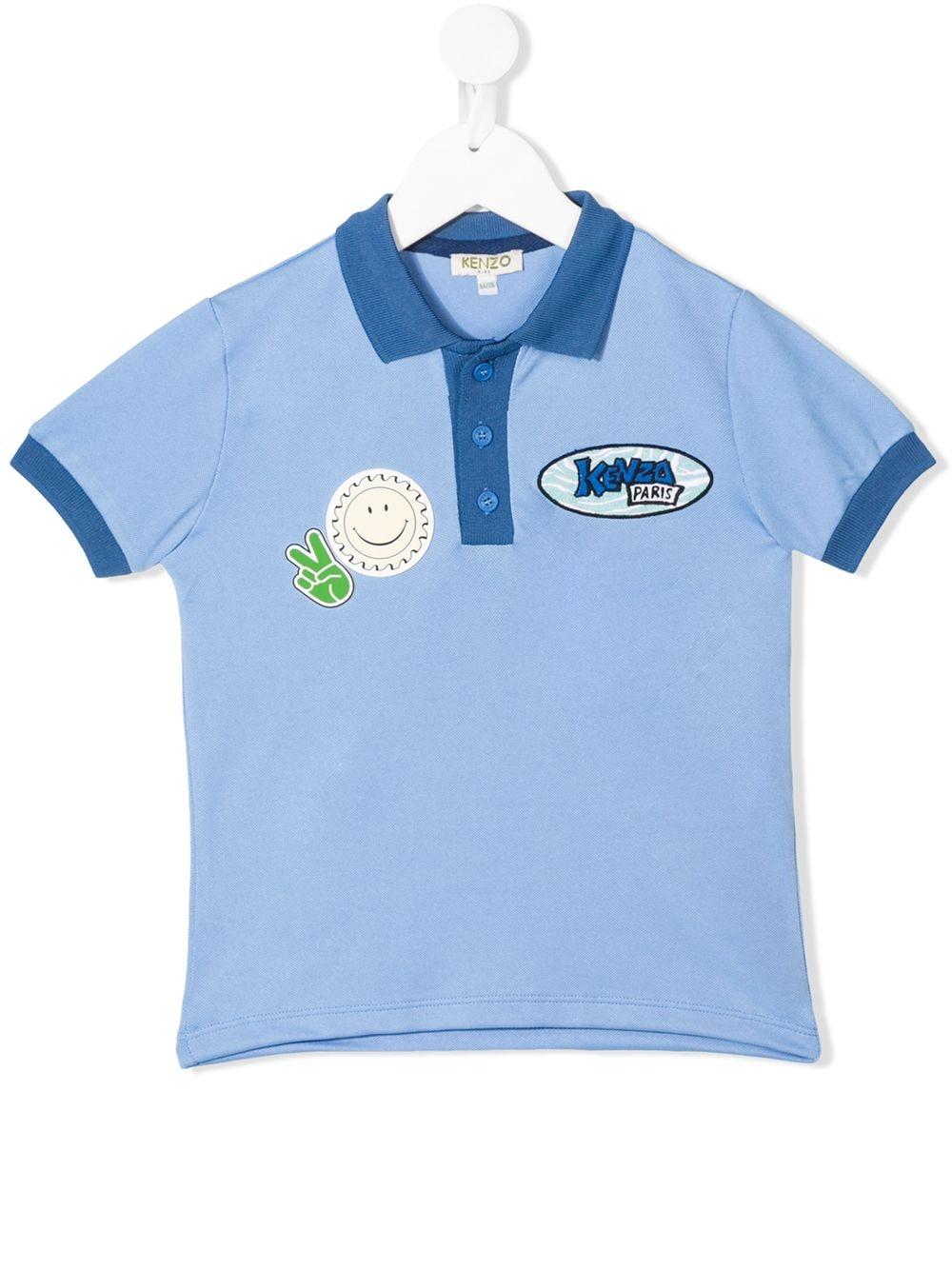 KENZO Kids | Kenzo Kids рубашка-поло с логотипом | Clouty