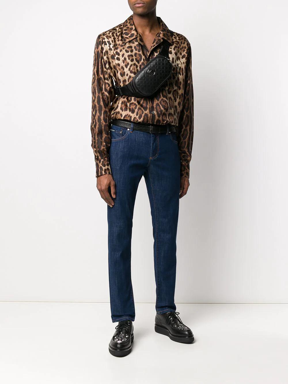 Dolce & Gabbana | Dolce & Gabbana укороченные джинсы кроя слим | Clouty