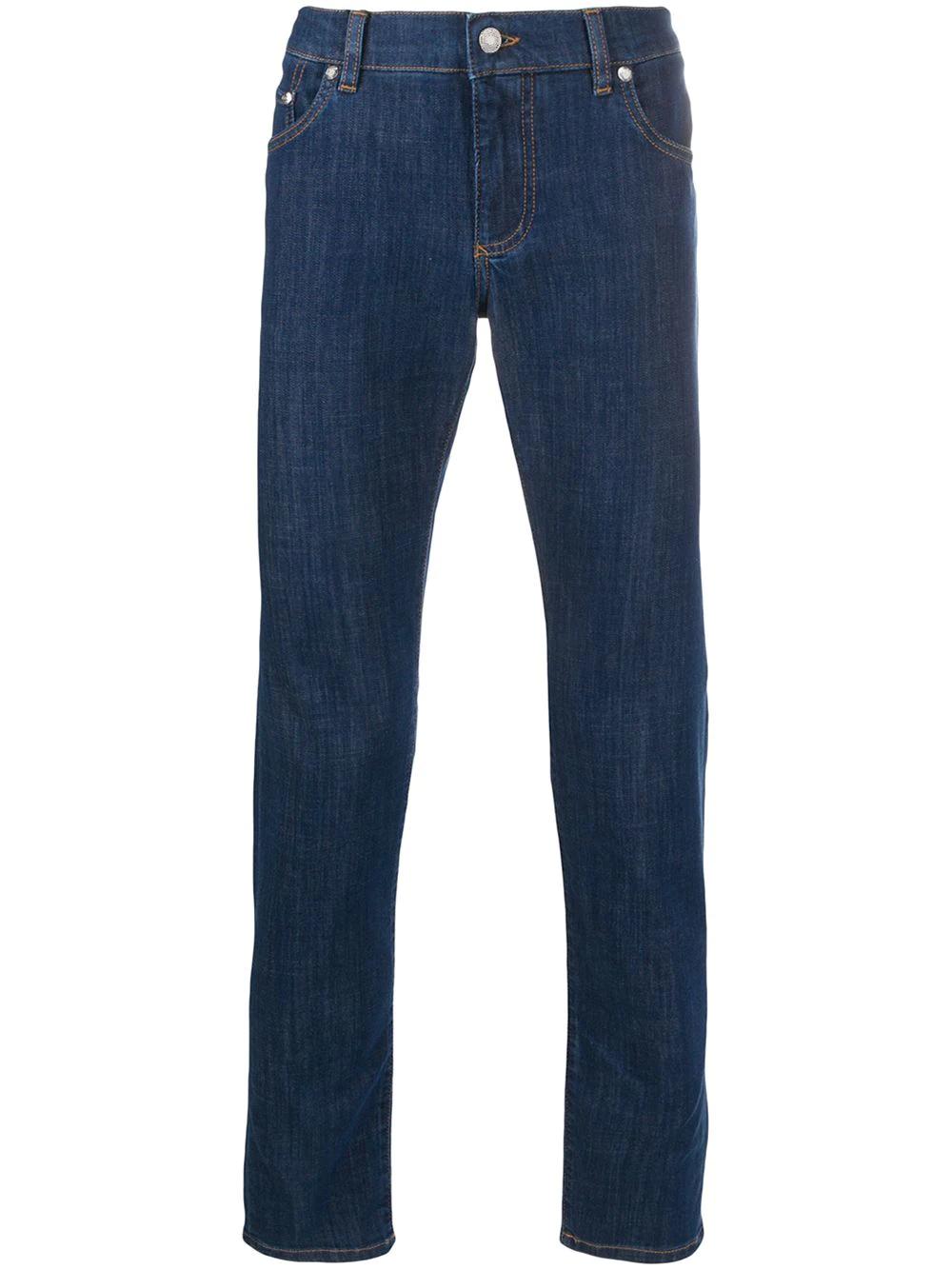 Dolce & Gabbana   Dolce & Gabbana укороченные джинсы кроя слим   Clouty