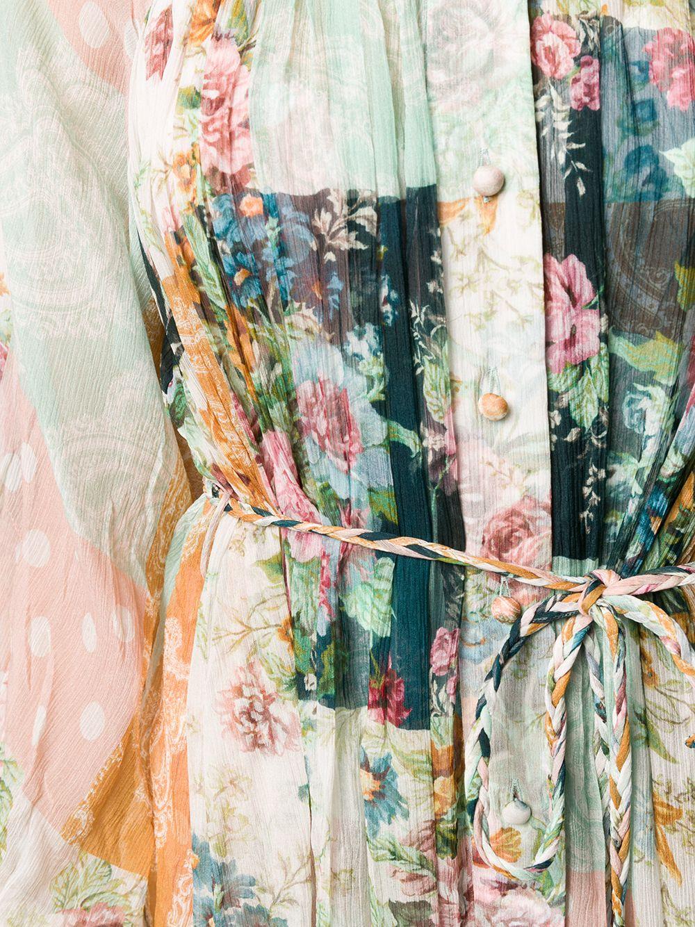 Zimmermann | Zimmermann платье-рубашка Wavelength | Clouty